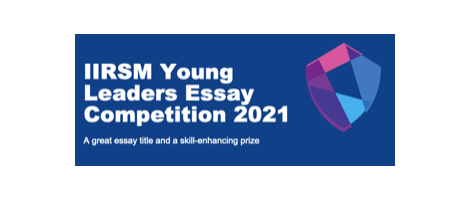 Success in the IIRSM Young Leaders Competition